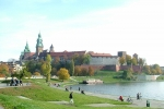 Wawel Castle And Vistula River
